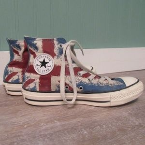 5ce86f701f Converse · Union jack / British flag ...